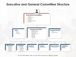 Executive And General Committee Structure