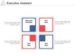 Executive Assistant Ppt Powerpoint Presentation Gallery Guidelines Cpb