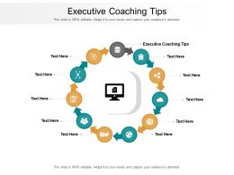Executive Coaching Tips Ppt Powerpoint Professional Infographic Template Cpb