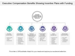 Executive Compensation Benefits Showing Incentive Plans With Funding