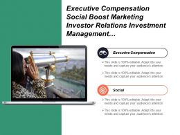 Executive Compensation Social Boost Marketing Investor Relations Investment Management Cpb
