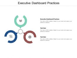 Executive Dashboard Practices Ppt Powerpoint Presentation Inspiration Cpb