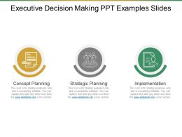 Executive Decision Making Ppt Examples Slides