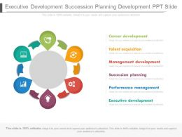 Executive Development Succession Planning Development Ppt Slide