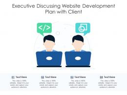 Executive Discussing Website Development Plan With Client