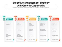 Executive Engagement Strategy With Growth Opportunity