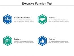 Executive Function Test Ppt Powerpoint Presentation File Brochure Cpb