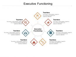 Executive Functioning Ppt Powerpoint Presentation Slides Background Cpb