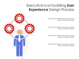 Executive Icon Building User Experience Design Process