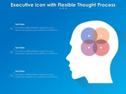 Executive Icon With Flexible Thought Process