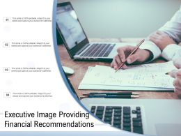Executive Image Providing Financial Recommendations