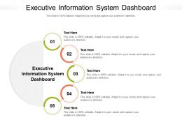Executive Information System Dashboard Ppt Powerpoint Presentation Icon Slides Cpb