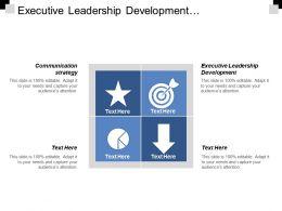 Executive Leadership Development Communication Strategy Strategic Finance Diversity Opportunities Cpb
