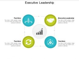 Executive Leadership Ppt Powerpoint Presentation Infographic Template Design Ideas Cpb