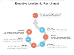 Executive Leadership Recruitment Ppt Powerpoint Presentation Ideas Designs Cpb