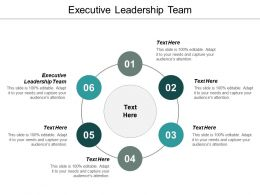 Executive Leadership Team Ppt Powerpoint Presentation Outline Samples Cpb