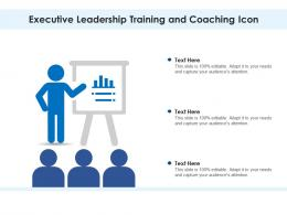 Executive Leadership Training And Coaching Icon