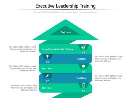 Executive Leadership Training Ppt Powerpoint Presentation File Background Images Cpb