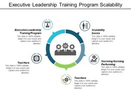 Executive Leadership Training Program Scalability Issues Storming Norming Performing Cpb