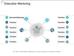Executive Mentoring Ppt Powerpoint Presentation Gallery Clipart Cpb