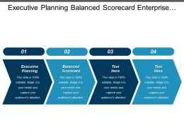 Executive Planning Balanced Scorecard Enterprise Management Capacity Planning Cpb