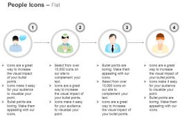 Executive Postman Manager And Team Ppt Icons Graphics
