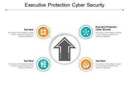 Executive Protection Cyber Security Ppt Powerpoint Presentation Portfolio Templates Cpb