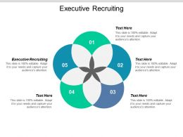 Executive Recruiting Ppt Powerpoint Presentation Gallery Template Cpb