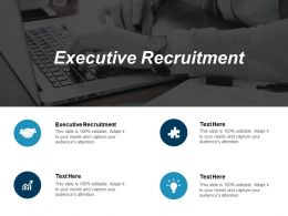 Executive Recruitment Ppt Powerpoint Presentation Slide Cpb