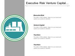Executive Risk Venture Capital Business Survey Organizational Change Cpb