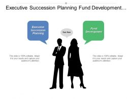 Executive Succession Planning Fund Development Strategic Planner Pricing Cpb
