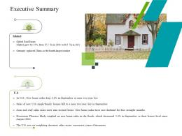 Executive Summary Construction Industry Business Plan Investment Ppt Information