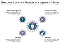 Executive Summary Financial Management Affiliate Marketing Business Plan Cpb