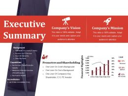 Executive Summary Powerpoint Show