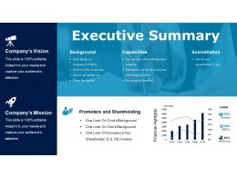 Executive Summary Powerpoint Slide Deck