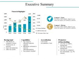 Executive Summary Powerpoint Slides Design