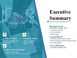 Executive Summary Ppt Pictures