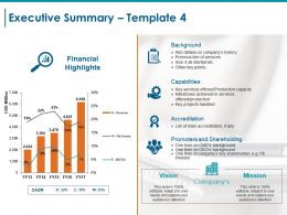 Executive Summary Ppt Styles Graphics Pictures