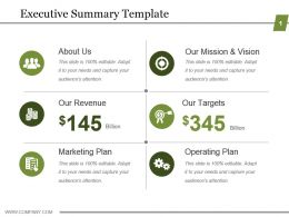 executive summary template powerpoint show powerpoint slide images