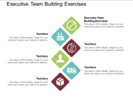 Executive Team Building Exercises Ppt Powerpoint Presentation Outline Design Templates Cpb
