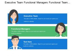 Executive Team Functional Managers Functional Team Ongoing Management And Review