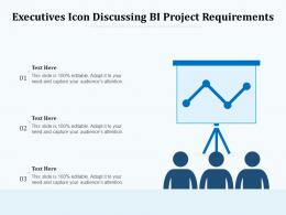 Executives Icon Discussing BI Project Requirements