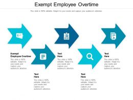 Exempt Employee Overtime Ppt Powerpoint Presentation Professional Clipart Images Cpb