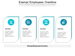 Exempt Employees Overtime Ppt Powerpoint Presentation Slides Graphics Example Cpb