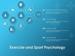 Exercise And Sport Psychology Ppt Powerpoint Presentation Styles Graphics Pictures