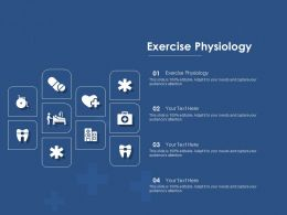 Exercise Physiology Ppt Powerpoint Presentation Icon Professional