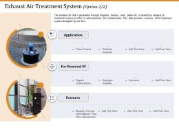 Exhaust Air Treatment System Disposal Ppt Gallery Microsoft