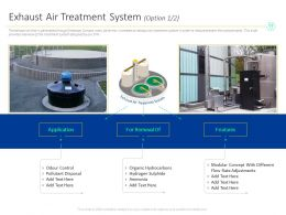 Exhaust Air Treatment System Option Flow Concept Ppt Powerpoint Presentation File Styles