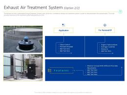 Exhaust Air Treatment System Option For Removal Ppt Powerpoint Presentation File Visuals