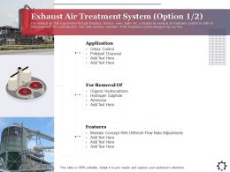 Exhaust Air Treatment System Option Pollutant Ppt Powerpoint Presentation Gallery